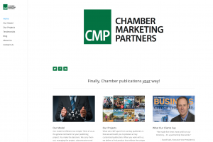 Redesign of Chamber Marketing Partners Website